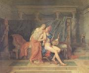 Jacques-Louis  David The Love of Paris and Helen (mk05) oil painting picture wholesale
